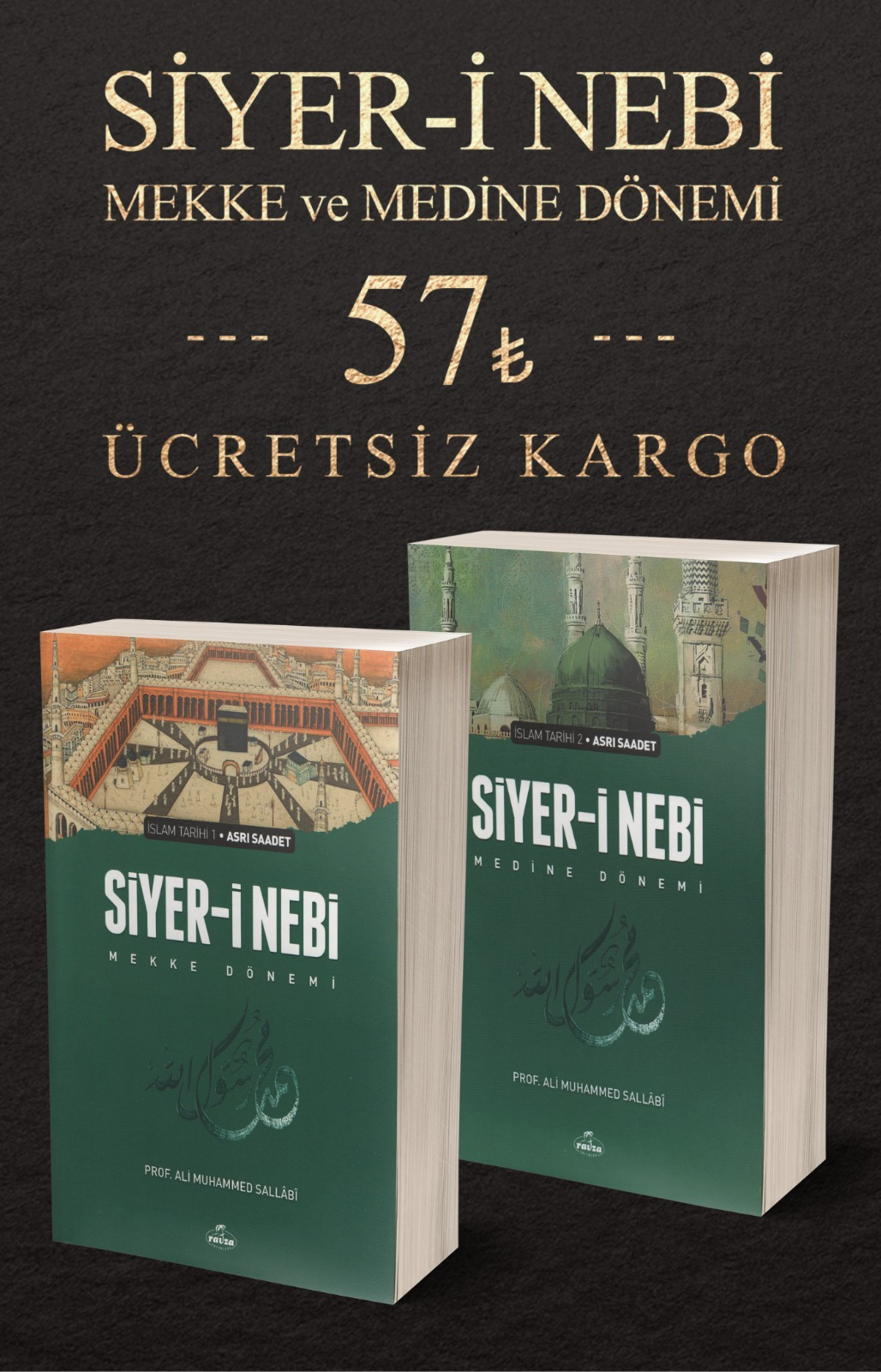 Siyer-i Nebi (2 Cilt Takım-Ciltsiz)