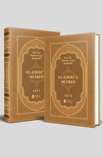 El-Edebü'l Müfred; (2 Cilt Takım, Kuşe Kapak, Ivory Kağıt)