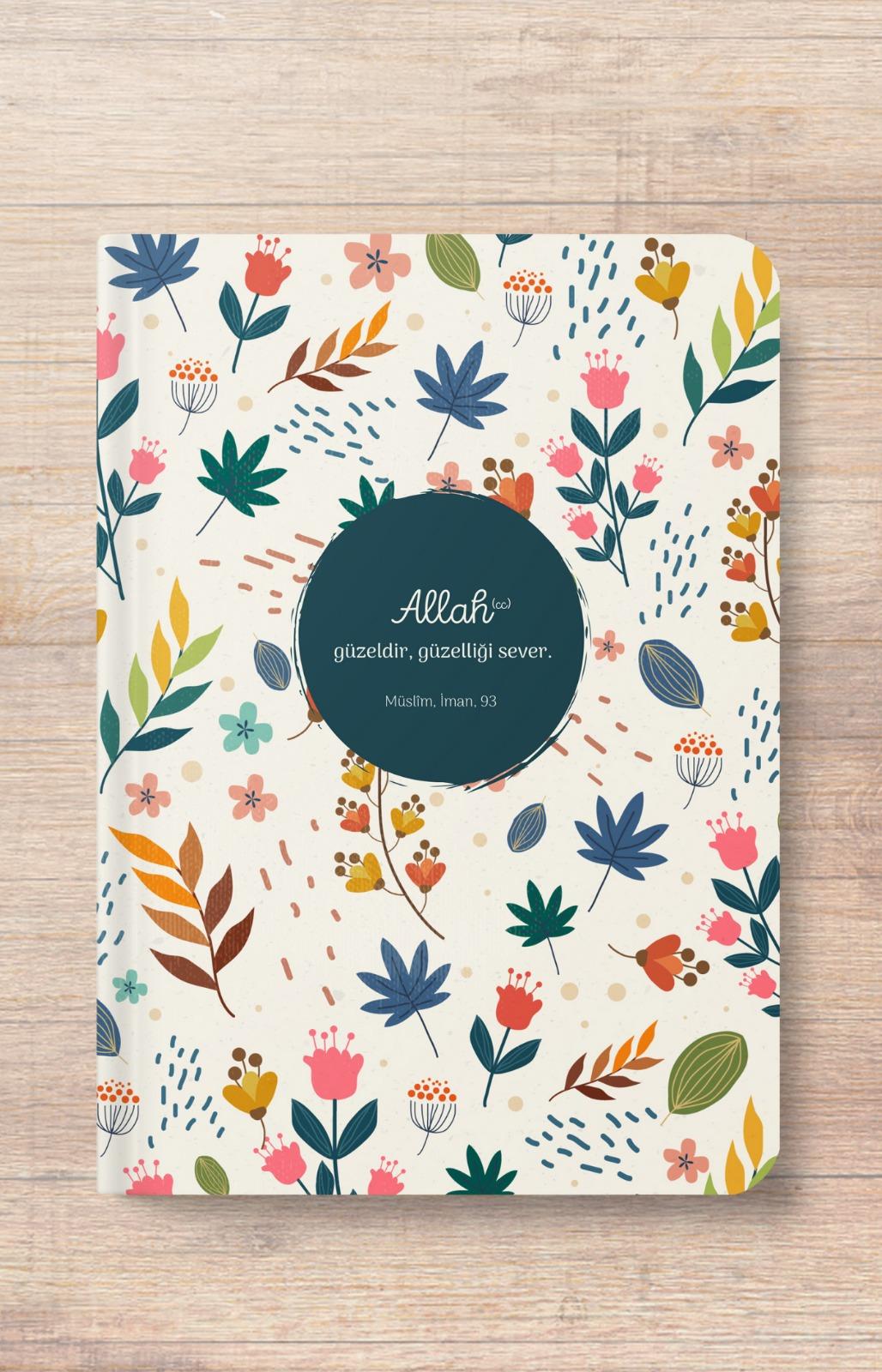 Allah Güzeldir Güzeli Sever - A5 Defter